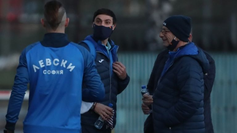 Левски обяви две промени в контролите, спарингът със Слован (Братислава) пропадна