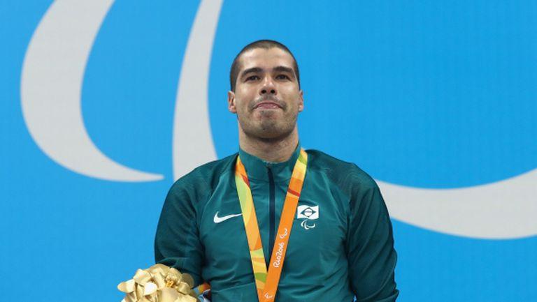 Легендарният бразилски плувец Диас се отказва след Параолимпиадата в Токио