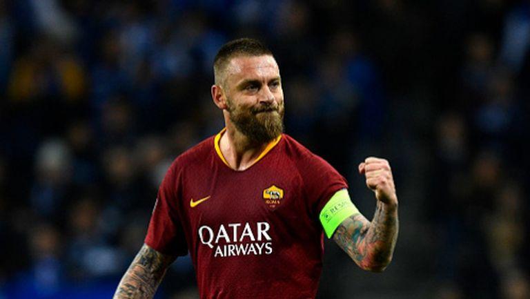 """На този ден преди 18 години Де Роси дебютира за Рома в Серия """"А"""""""