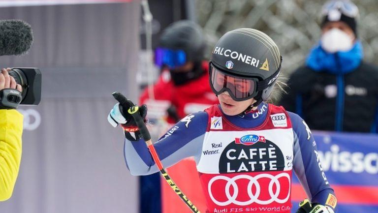 София Годжа с контузия в коляното след падане по време на тренировка