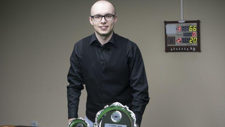 Георги Величков с втора титла и брейк от 92 точки