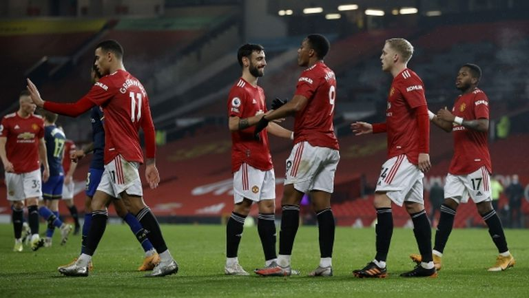 Ман Юнайтед прегази Саутхамптън с 9:0 (видео)