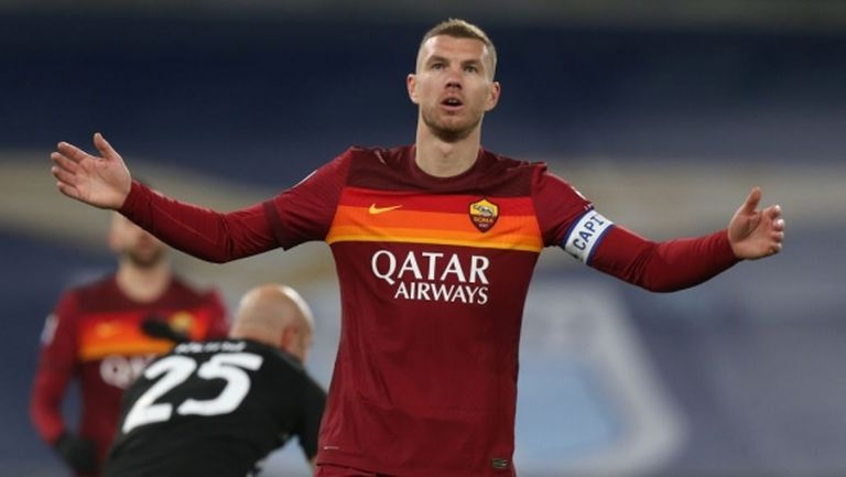 Рома отне капитанската лента на Един Джеко