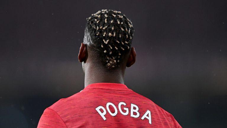Погба е играч на месеца на Манчестър Юнайтед