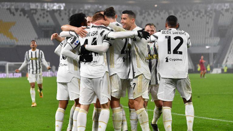 Роналдо поздрави Ювентус за успеха над Рома
