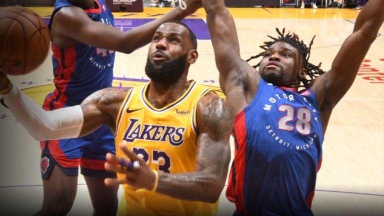 ЛеБрон Джеймс с 33 точки, Лейкърс би Детройт след продължения (видео)