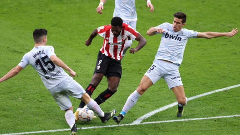Атлетик Билбао пак не намери сили за успех в Ла Лига (видео)