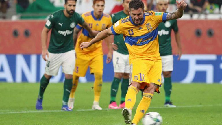 Жиняк отново герой за Тигрес - мексиканците са на финал на Световното клубно първенство (видео)