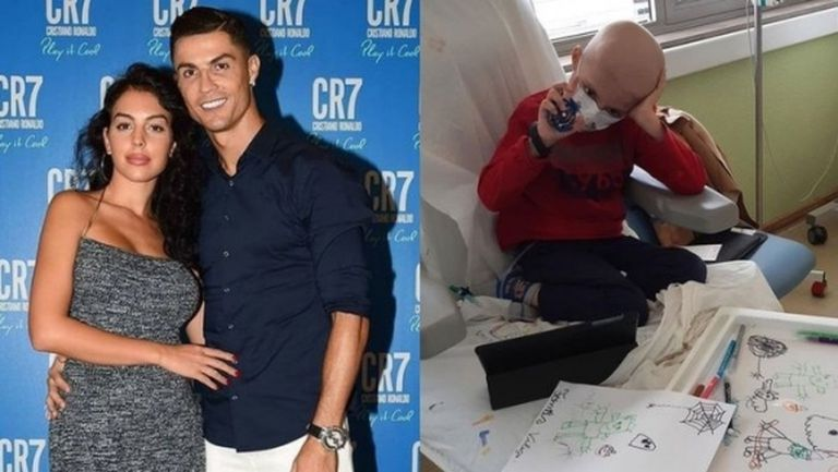 Голям жест: Кристиано и Джорджина платили за лечението на 7-годишно дете