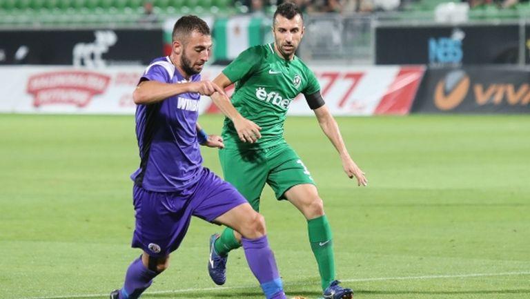 Даниел Младенов заби два гола на Янтра