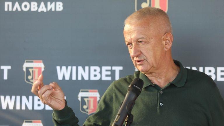 Крушарски: Локомотив може да диша спокойно през следващите 50 години