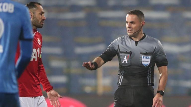 Никола Попов ще свири Славия - ЦСКА-София, ето всички назначения