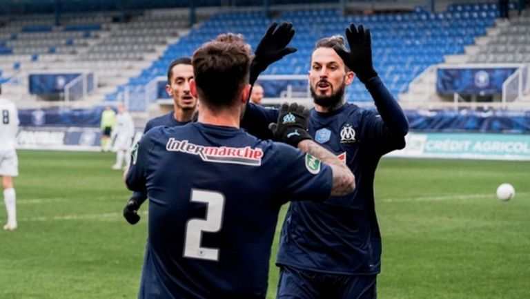 Марсилия тресна Оксер, Монако, Ланс и Ница ги последваха на 1/16-финалите за Купата