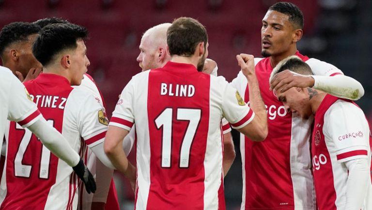 Алер реши дербито на Нидерландия в полза на Аякс