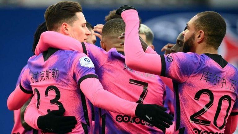 ПСЖ победи, но не убеди преди сблъсъка с Барселона (видео)