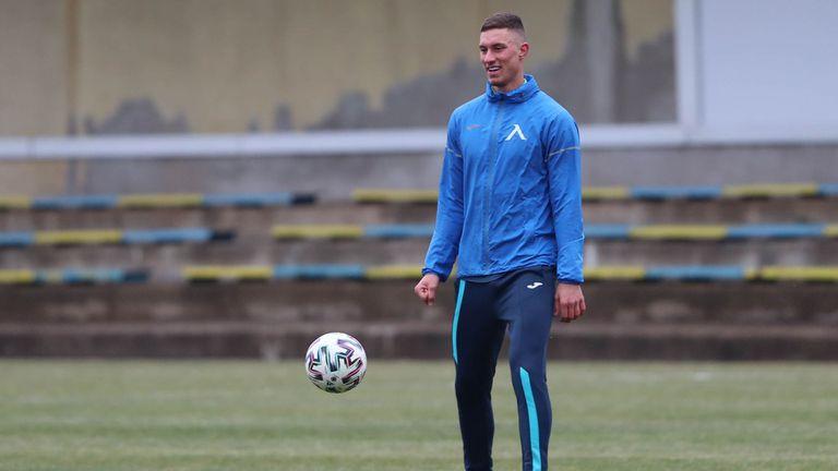 Андриан Краев поднови тренировки с Левски