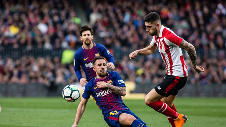 Епизод номер 2 от сблъсъка между Барселона и Атлетик Билбао