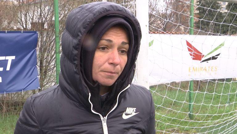Станислава Цекова: Ние сме отбор на една година и още се развиваме, нямаме конкретни цели за класиране