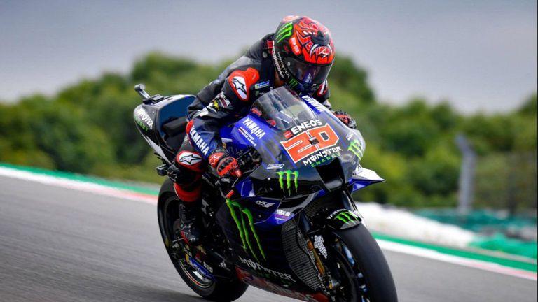 Драматичен завършек на квалификацията в MotoGP в Португалия
