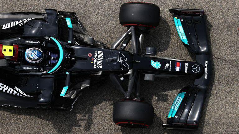 """Ботас не е можел да се довери на колата си в края на квалификацията на """"Имола"""""""