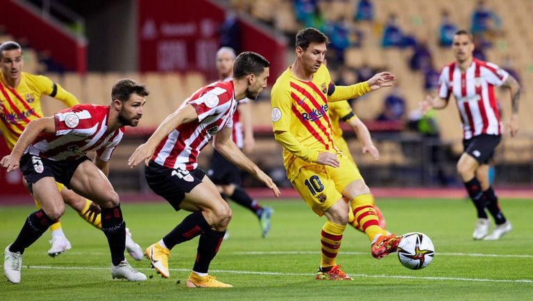 Финал за Купата на краля: Атлетик 0:2 Барселона, два бързи гола за каталунците (гледайте тук)