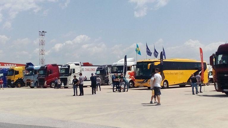 Световните производители на товарни автомобили се събират на изложение в Пловдив
