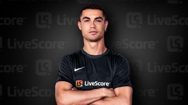 Кристиано Роналдо се обвърза с LiveScore