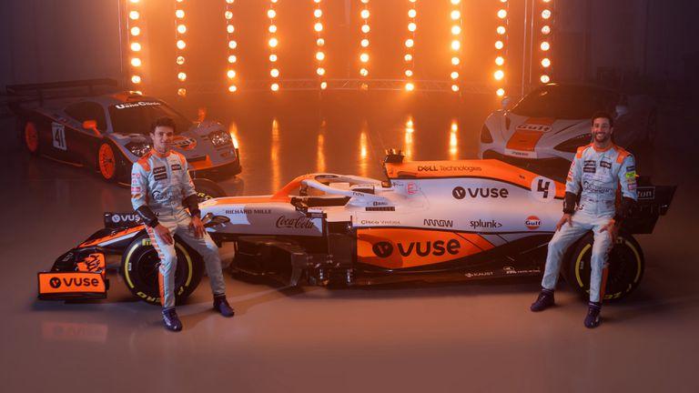 Макларън ще се състезават в Монако с легендарна ретро разцветка