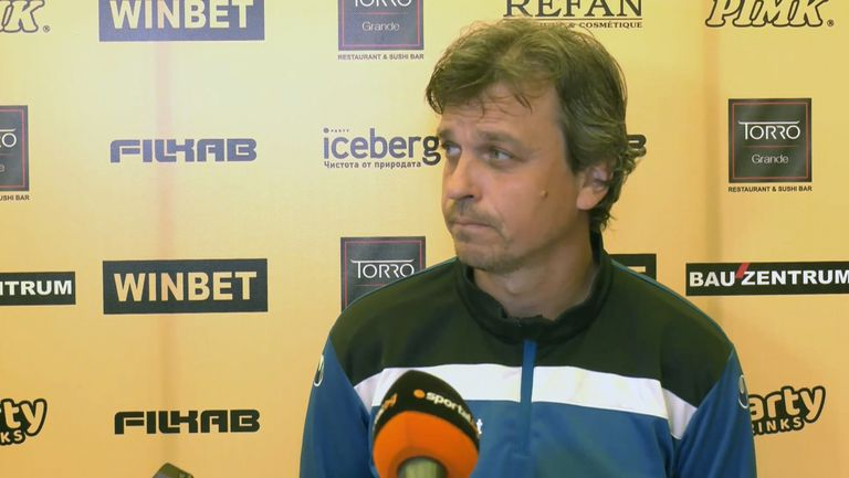Петър Костадинов: Няма как да бъдем доволни от резултата, дългите пътувания ни пречат
