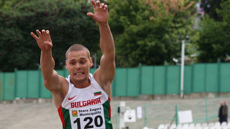 Георги Цонов спечели титлата на троен скок на турнир в Пловдив