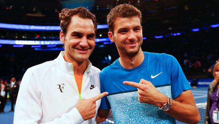 Федерер: Очаквам Григор да се върне в Топ 10