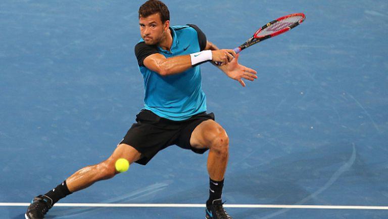 Григор игра силно и взе сет, но това не бе достатъчно срещу Федерер (видео и галерия)