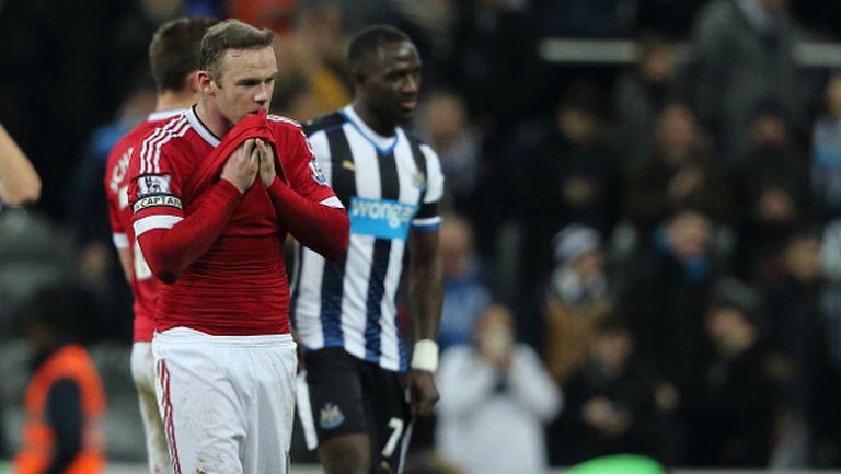 """Поредно разочарование! Ман Юнайтед изпусна победата в зрелище на """"Сейнт Джеймсис Парк"""" (видео)"""