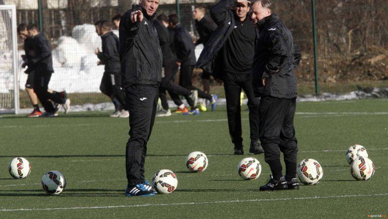 Литовски национал тренира със Славия