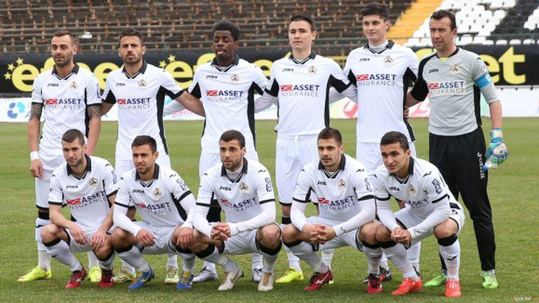 Групата на Славия за мача с Берое