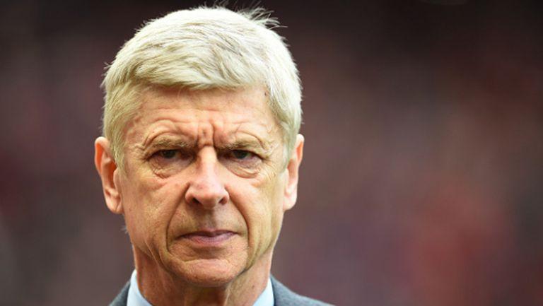 Венгер отказа да критикува своите след загубата
