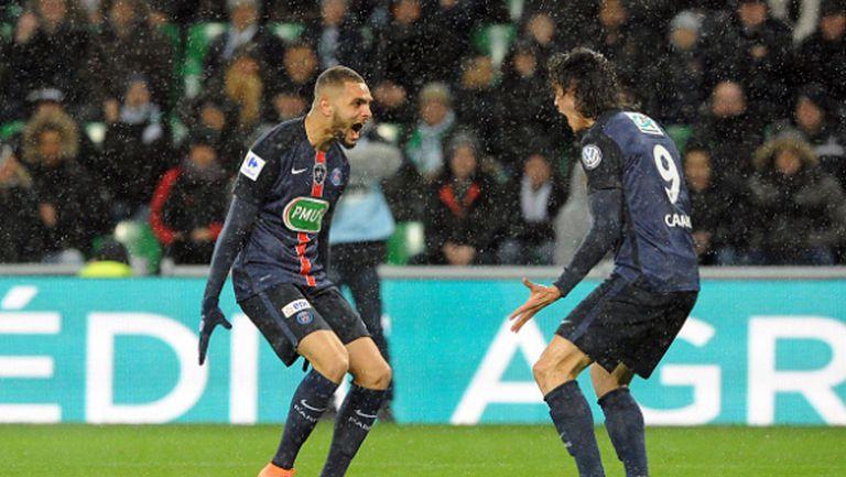 ПСЖ пребори Сент Етиен и е на 1/2-финал за Купата на Франция