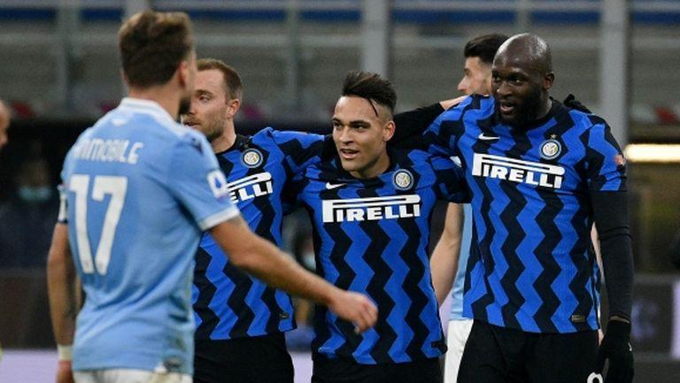 Интер се качи на върха преди дербито с Милан, а неудържим Лукаку стигна до гол №300
