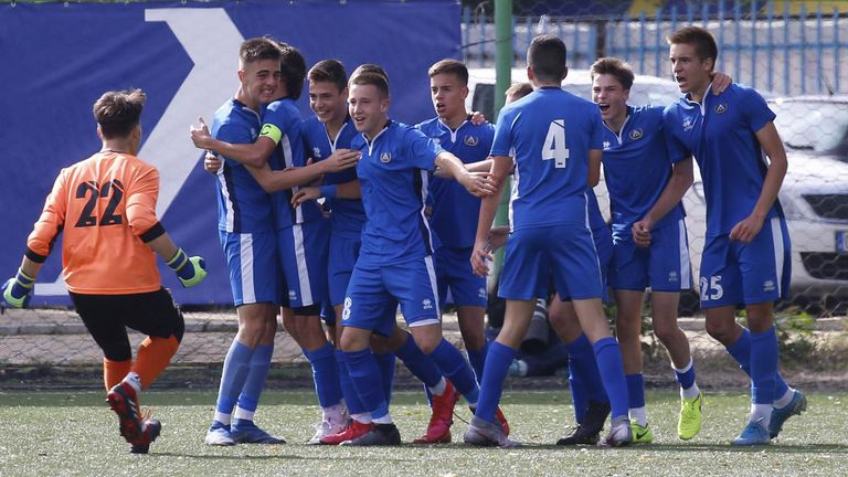 Левски надви Славия в първенството на U15