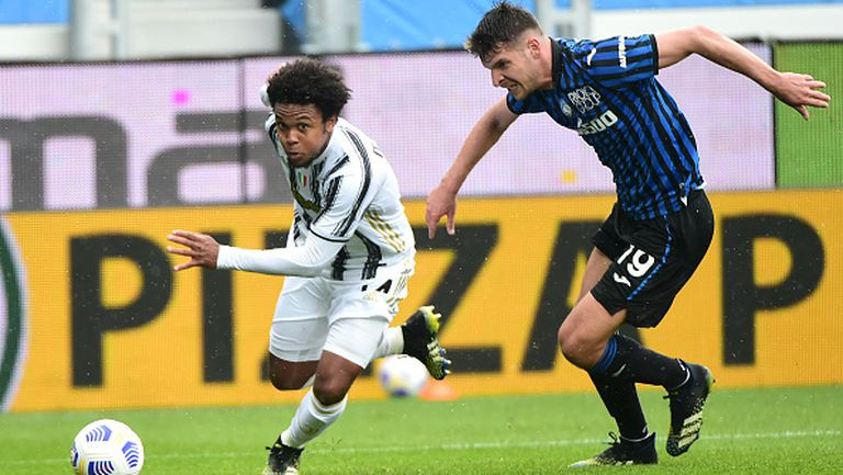 Аталанта победи Ювентус с 1:0 след късен гол
