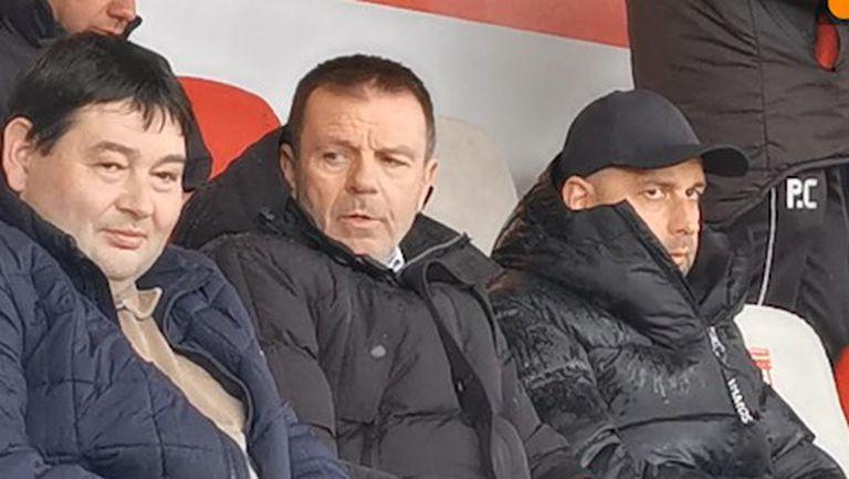 Ръководството на ЦСКА-София, както и Стойчо Младенов ще наблюдават мача в Царско Село