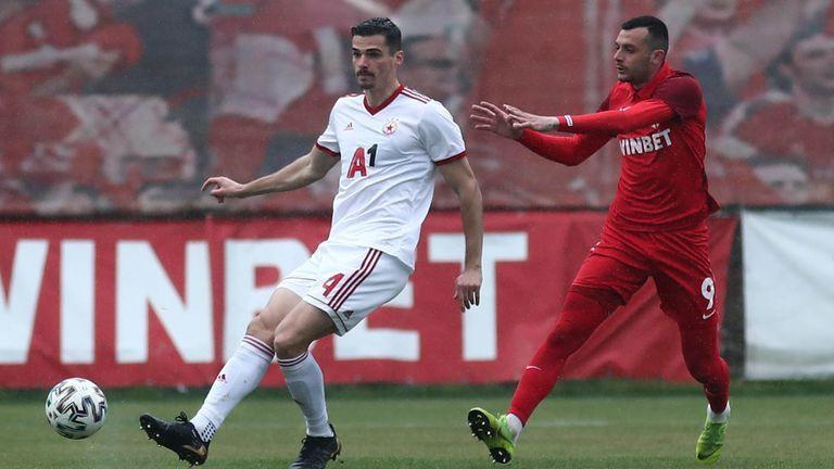 Царско село 1:0 ЦСКА-София, Занев направи дузпа, а малко по-късно получи и червен картон (видео+галерия)