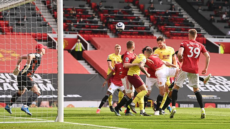 Манчестър Юнайтед - Бърнли 3:1
