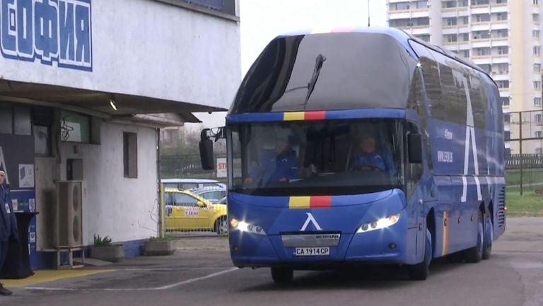 """Автобусът на """"сините"""" пристигна на Герена"""