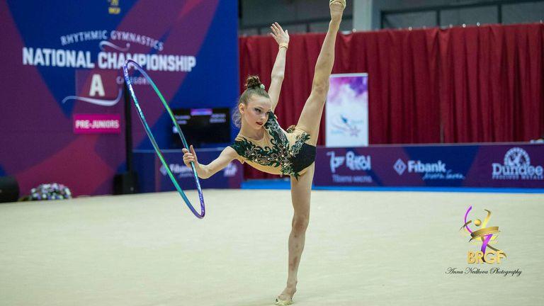 """Дара Малинова спечели титлата в многобоя на """"Златен обръч"""""""
