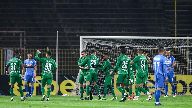Каули вкара втори гол във вратата на Левски
