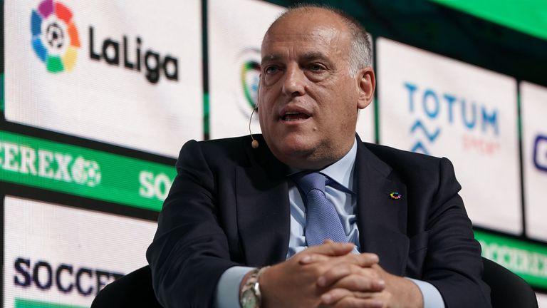 Президентът на Ла Лига реагира остро на новината за Суперлигата