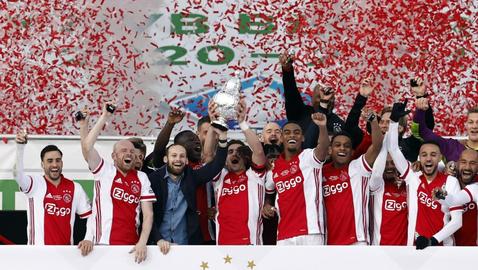 Аякс спечели Купата на Нидерландия