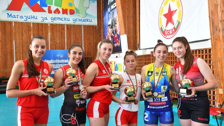 Александра Костадинова е MVP при девойките U20