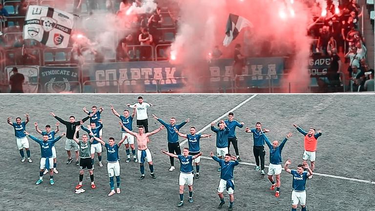 Спартак (Варна) се завърна във Втора лига
